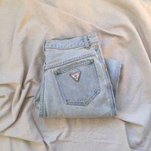 Vintage Light Wash High Rise Jeans